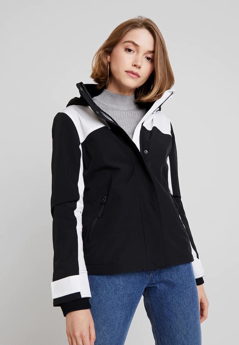 Fleece gevoerde dames jas van Hollister Co met 70% korting