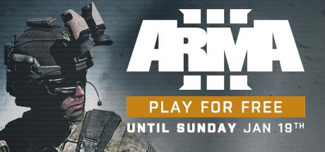 Speel t/m zondag 19 u gratis Arma 3 @ Steam