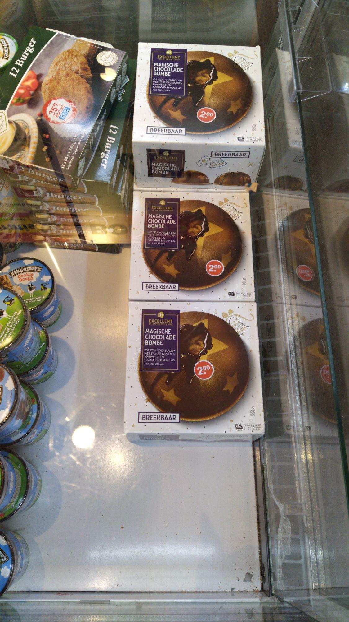 [Lokaal] AH Grote chocolade bombe voor 2 euro