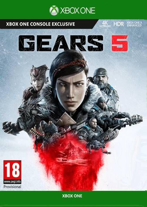Gears of War 4+ Gears 5 voor Xbox One en PC €14,09 @ cdkeys