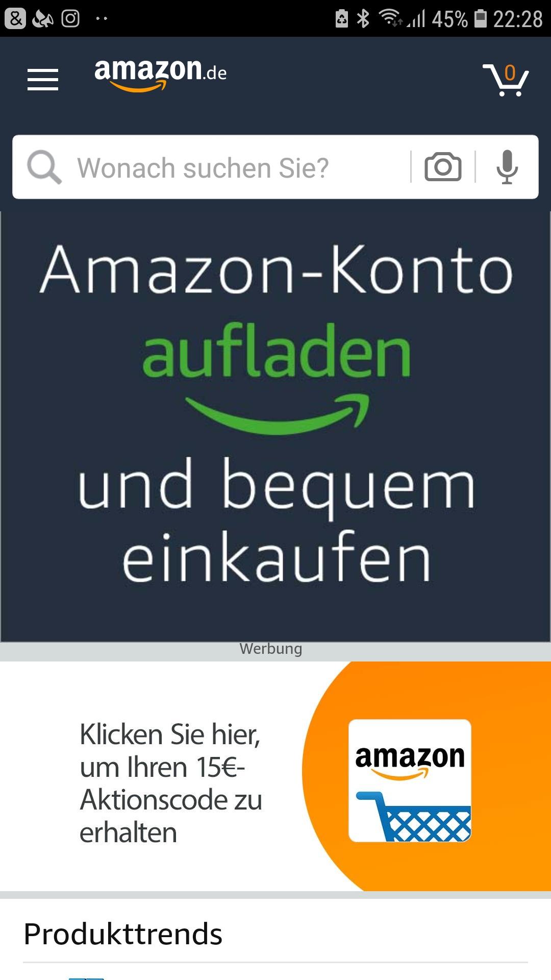 [Nieuwe Amazon APP gebruikers] 15 euro korting vanaf 30 euro in de app @Amazon.de
