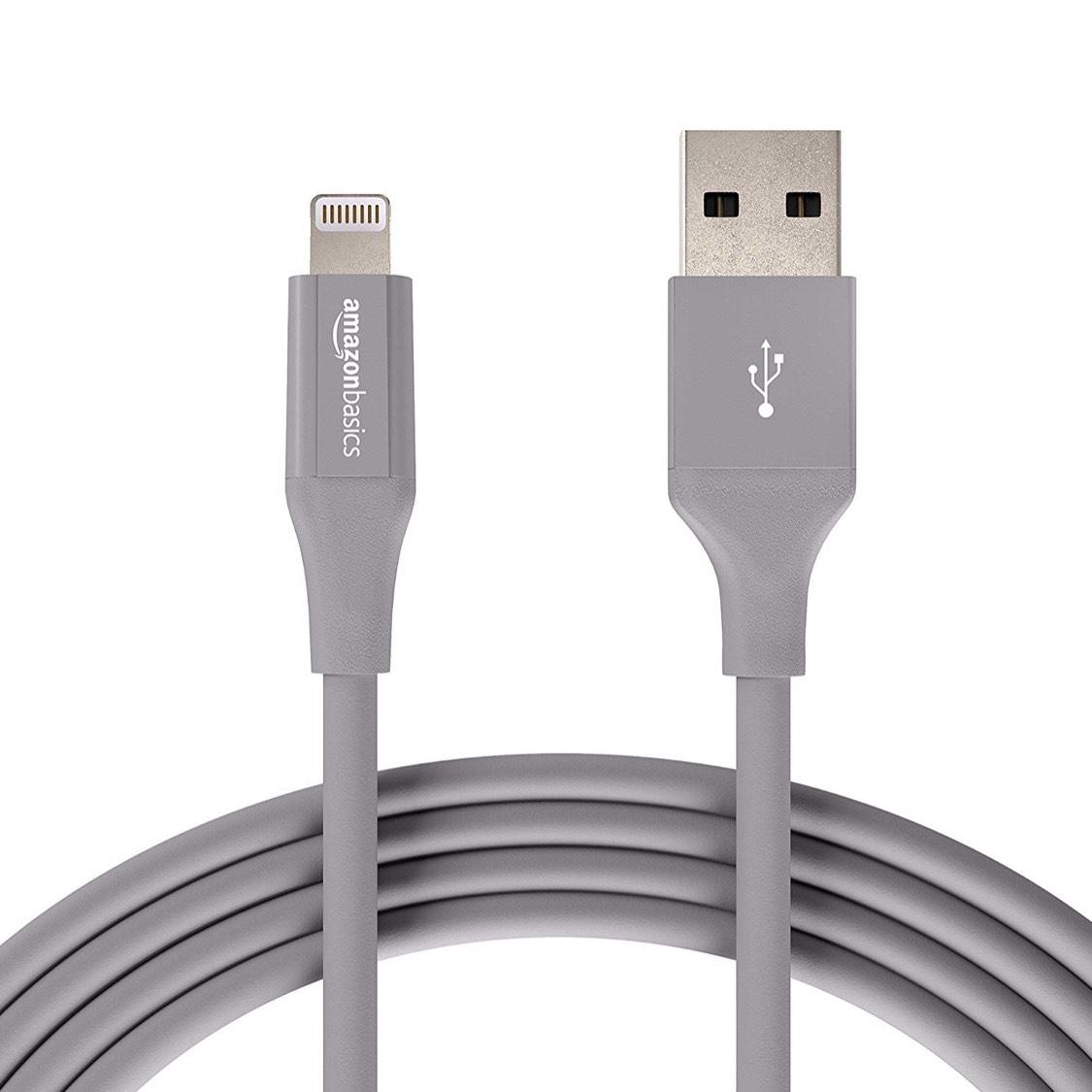 12 stuks AmazonBasics Lightning naar USB A-kabel