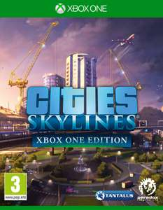 Cities: Skylines €6,43 en Prey €4,08 voor de Xbox One @Zavvi