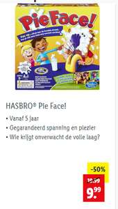 HASBRO® Pie Face! kettingreactie nu met 50%