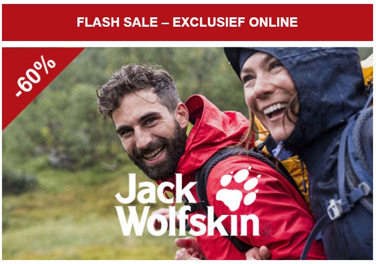 Jack Wolfskin - veel -60% korting (ook winter / ski) @ A.S.Adventure