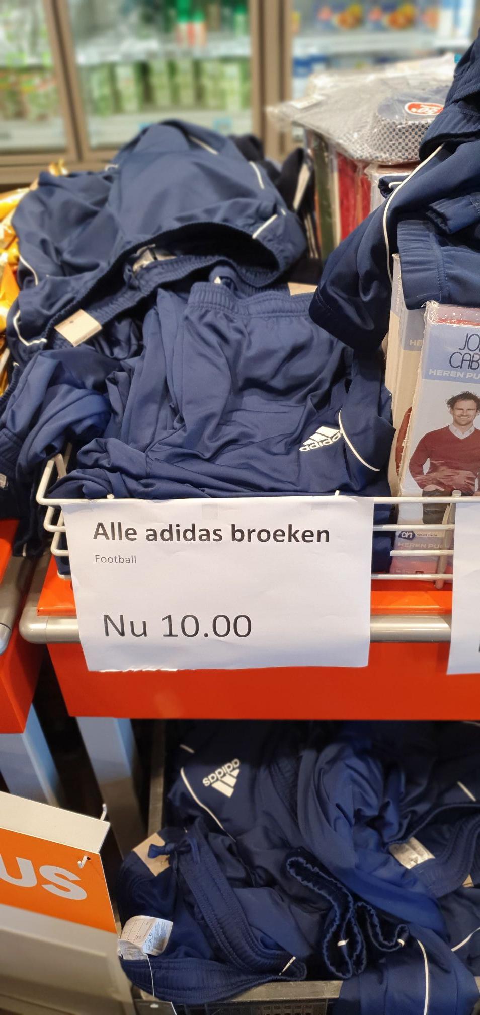 [LOKAAL?!] Adidas Broeken €10