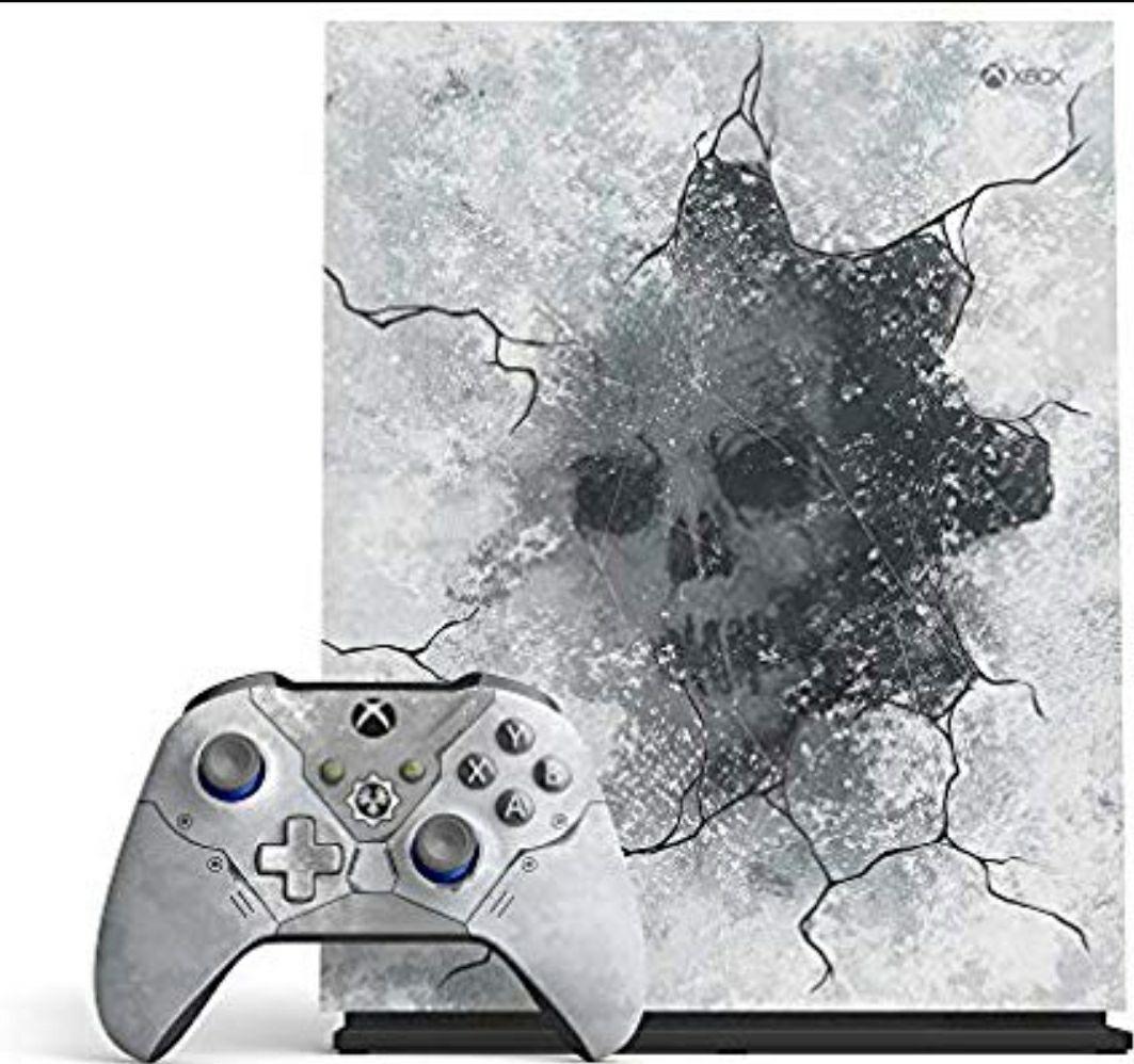 Xbox One X 1TB Gears 5 Limited Edition Bundle