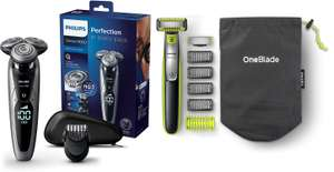 Philips Shaver Series 9000 S9711/41 + Philips OneBlade QP2630/30 @ Amazon.it