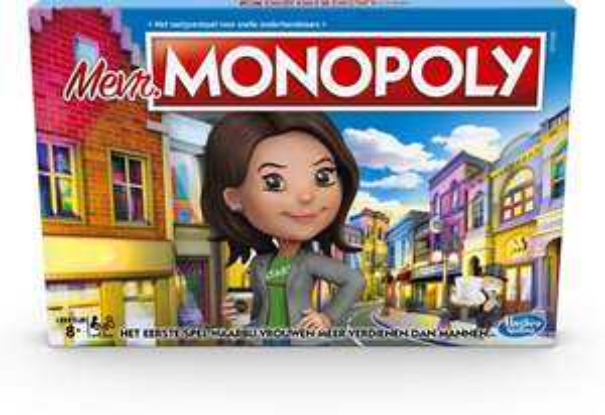 Mevrouw Monopoly bordspel voor €12,99 @ Bol.com