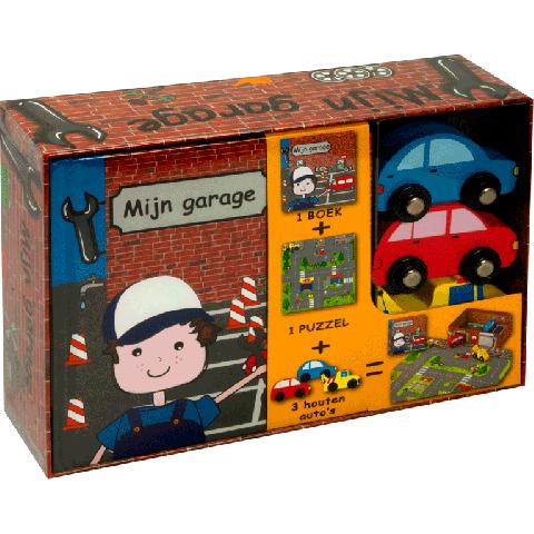 Mijn garage / Mijn treinstation / Mijn racecircuit / Mijn bouwplaats speelsets voor €4,99 @ boekenvoordeel