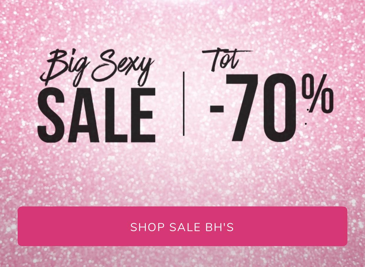 Big Sexy Sale bij Hunkemoller - Tot -70%