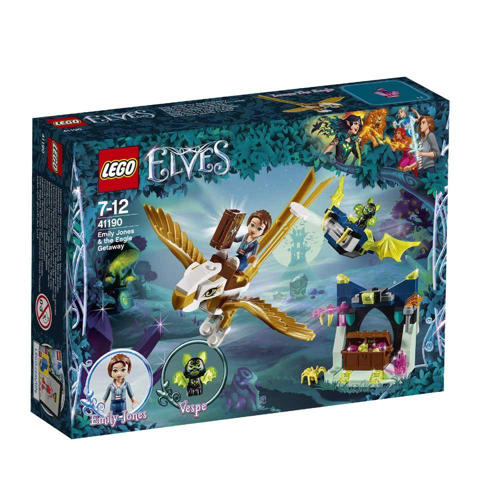 LEGO ELVES EMILY JONES EN DE ADELAARONTSNAPPING