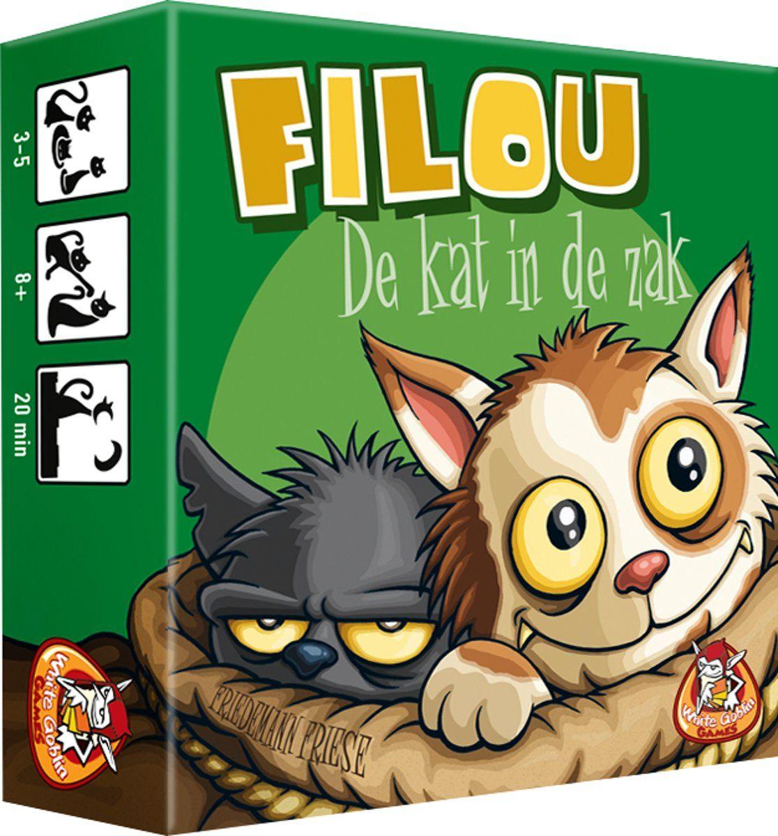 Filou: de kat in de zak kaartspel @bol.com