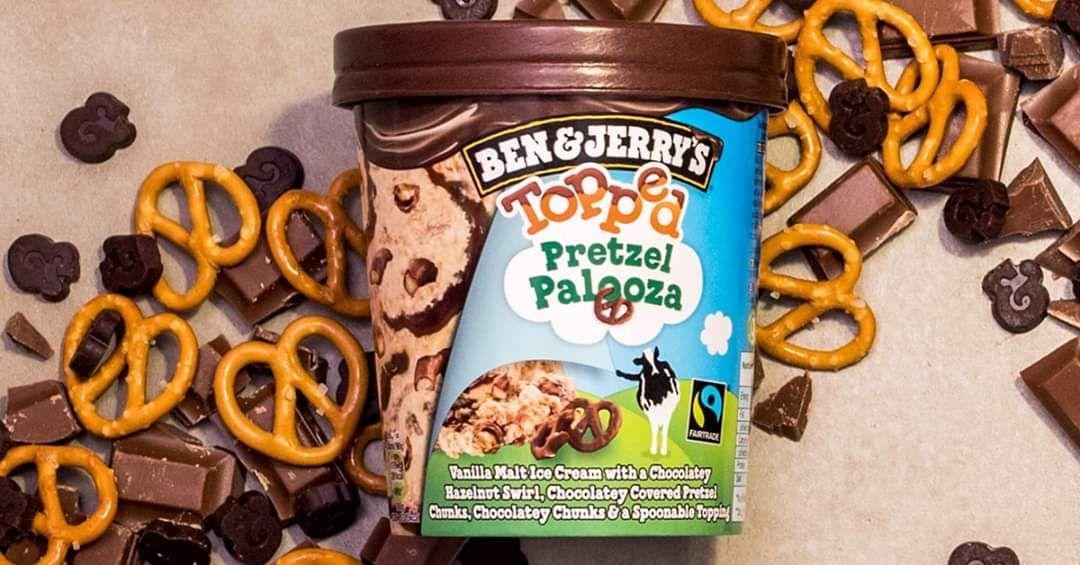 Ben & Jerry's Pretzel Palooza voor €1,50 bij Budgetfood