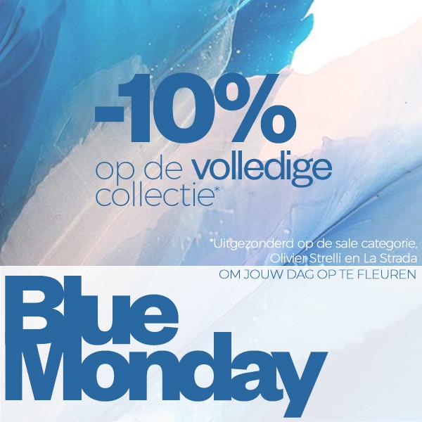 Blue Monday? 10% EXTRA korting @ Maison Lab
