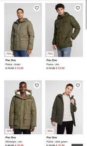 Pier Parka One collectie 70% korting