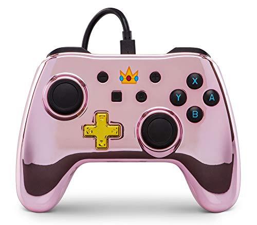Nintendo Switch Wired Controller Princess Peach @Amazon.de