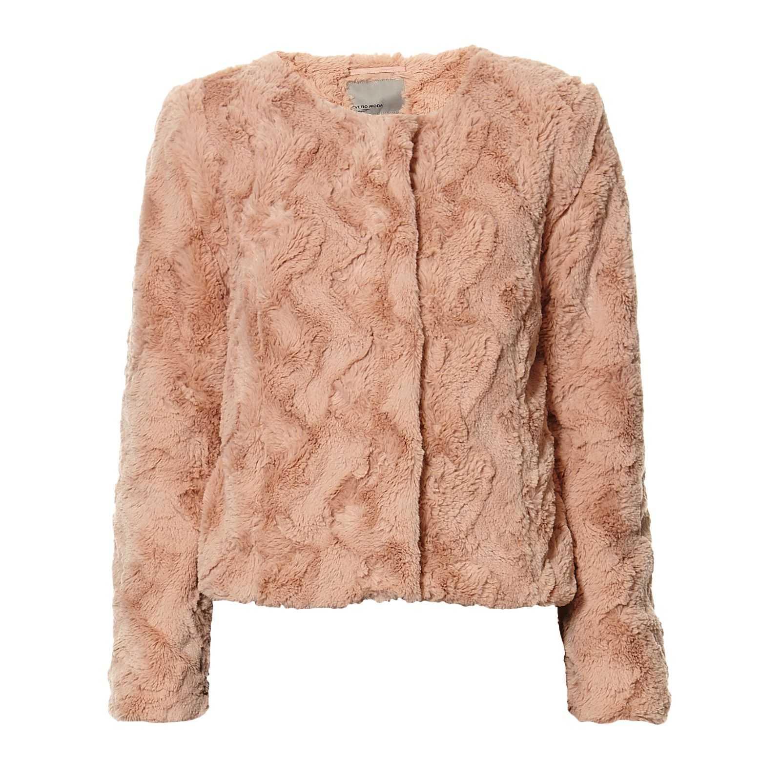 Vero Moda faux fur jasje €17 @ Outlet Avenue (+€5,50 verzenden)