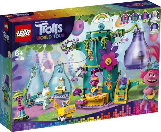 LEGO Trolls Feest in Trol Dorp - 41255, laagste prijs ooit
