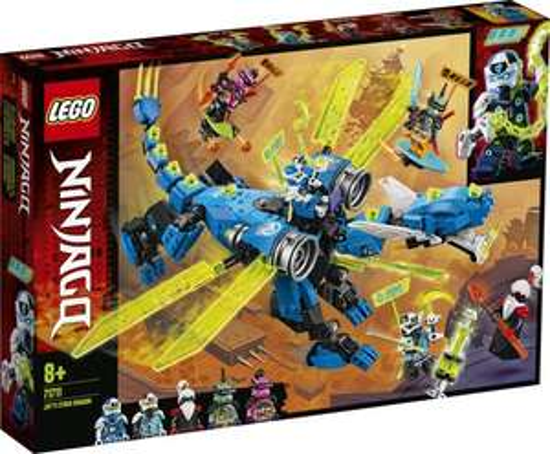 LEGO NINJAGO Jay's Cyberdraak - 71711, Laagste prijs ooit