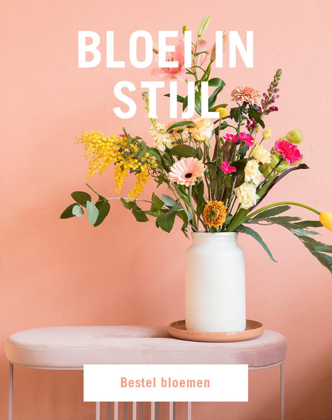 Gratis keramische vaas cadeau bij Bloomon (ook bestaande klanten!)