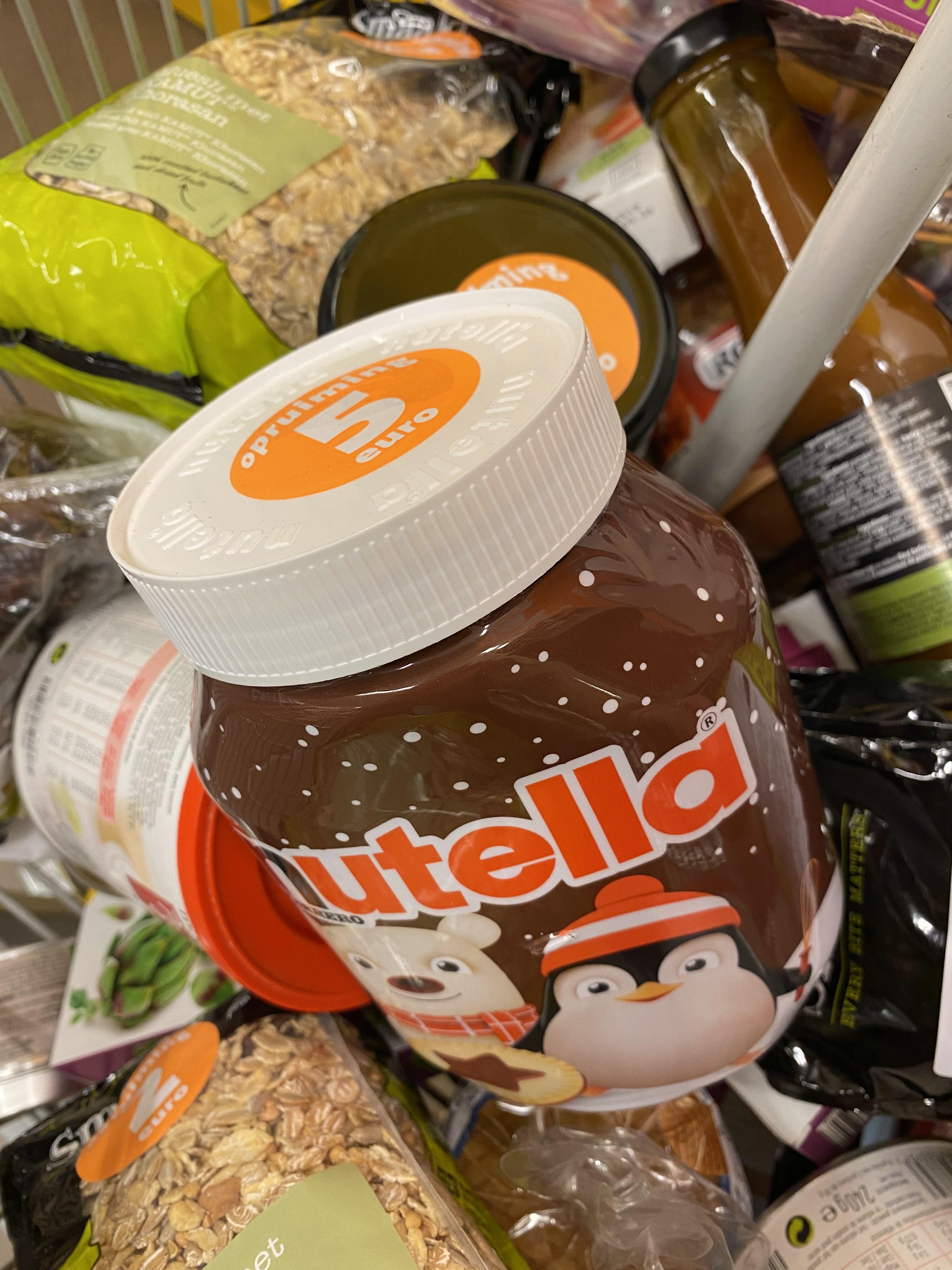 [Eindhoven] Nutella 1 kg voor €5 @Jumbo