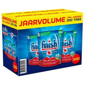 Vaatwasdeals! Finish All-in-1 Powerball 6,9 cent en Sun Active Clean voor 5,7 cent per tablet (300 & 348 stuks)