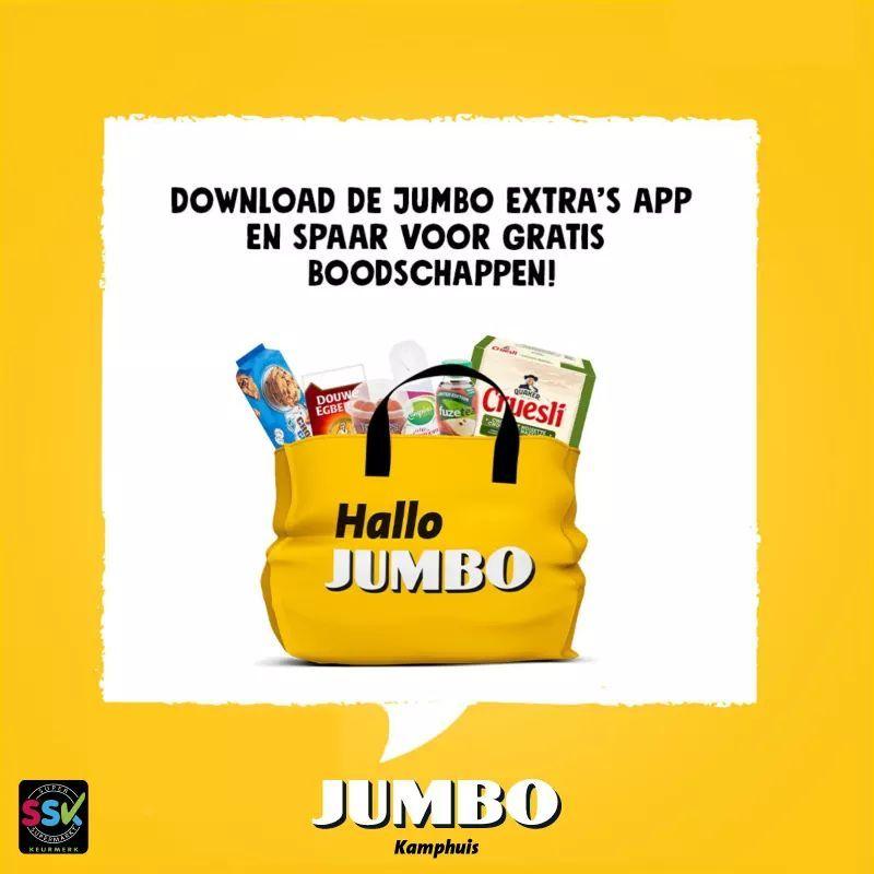 Sparen voor gratis producten met Jumbo Extra's
