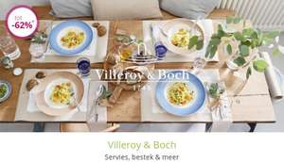 Héél veel Villeroy & Boch tot -79%