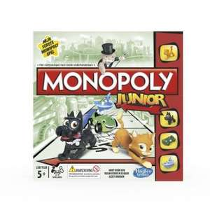 [Grensdeal BE - afhalen in BE] Hasbro Monopoly Junior voor €6,25 @Fnac.be