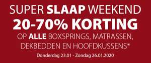 Jysk - Super slaap weekend 20-70% korting!