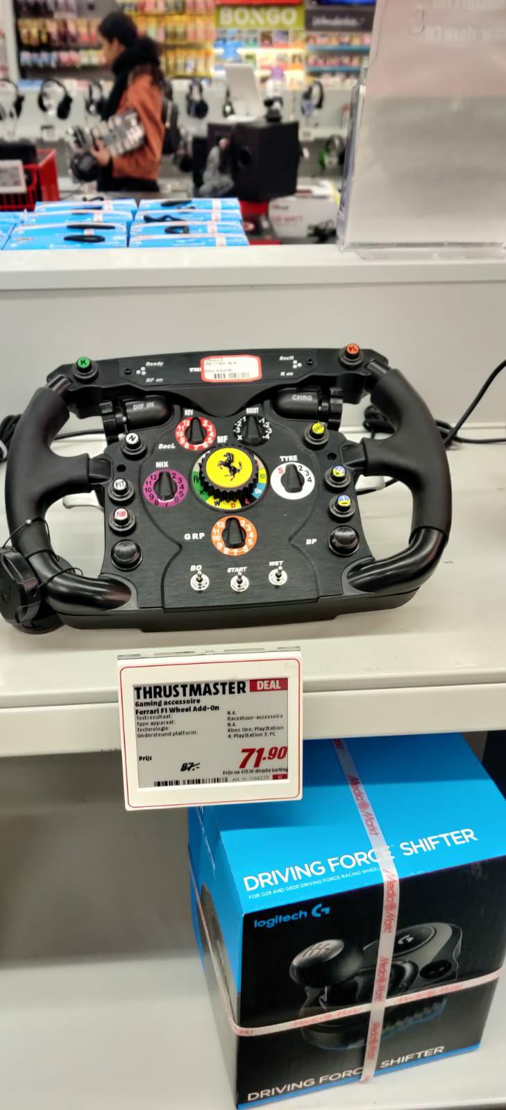 Thrustmaster Ferrari F1 Wheel Add-On Zwart @ MM Almere