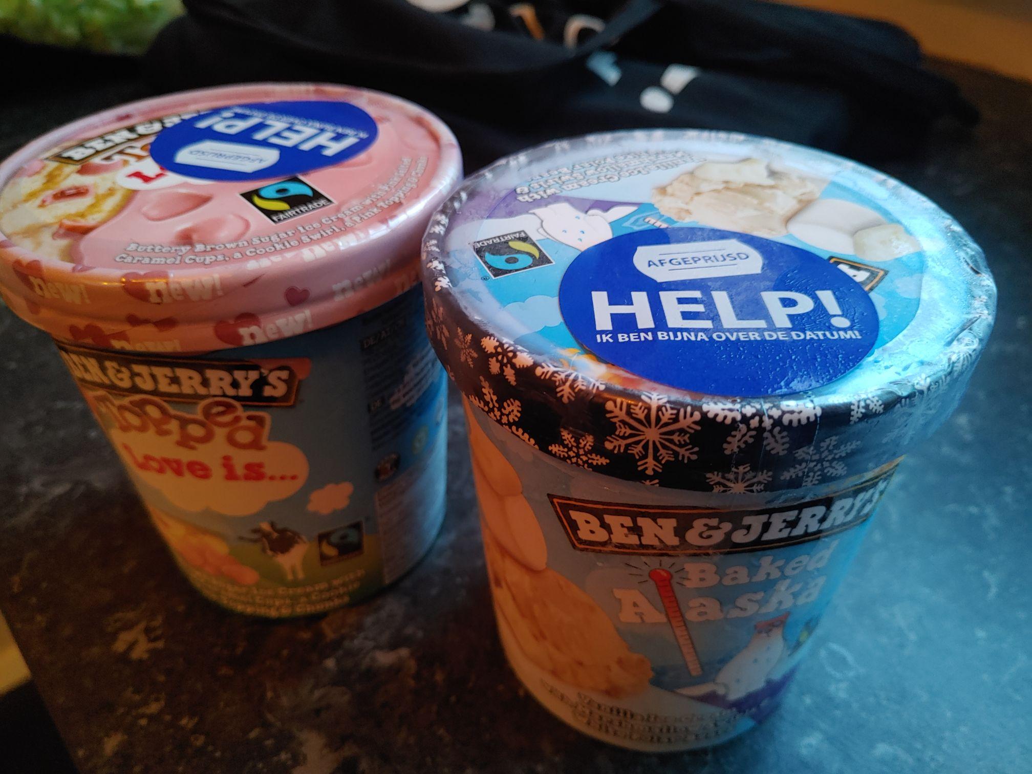 (Lokaal Jumbo)50% korting op Ben en Jerry's ijs