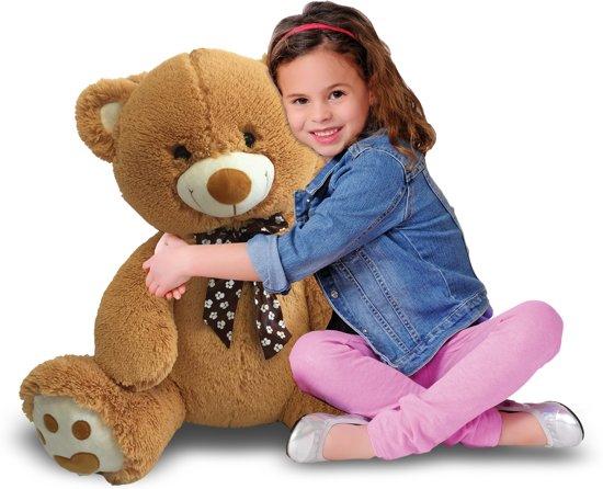 Iplush opblaasbare pluchen teddybeer (80 cm) voor €8,49 @ Bol.com