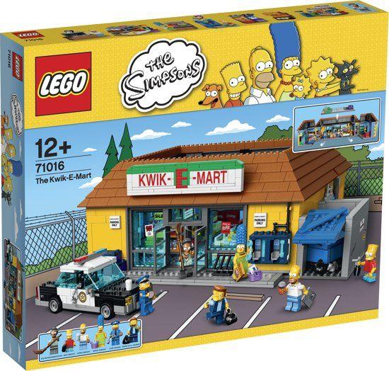 LEGO THE SIMPSONS 71016 Kwik-E-Mart.