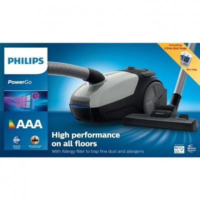 Philips PowerGo Stofzuiger met zak FC8253/09 @ AH