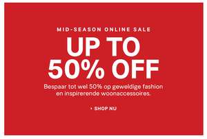 Mid Season SALE met tot 50% korting - dames - heren - kids - home @ H&M