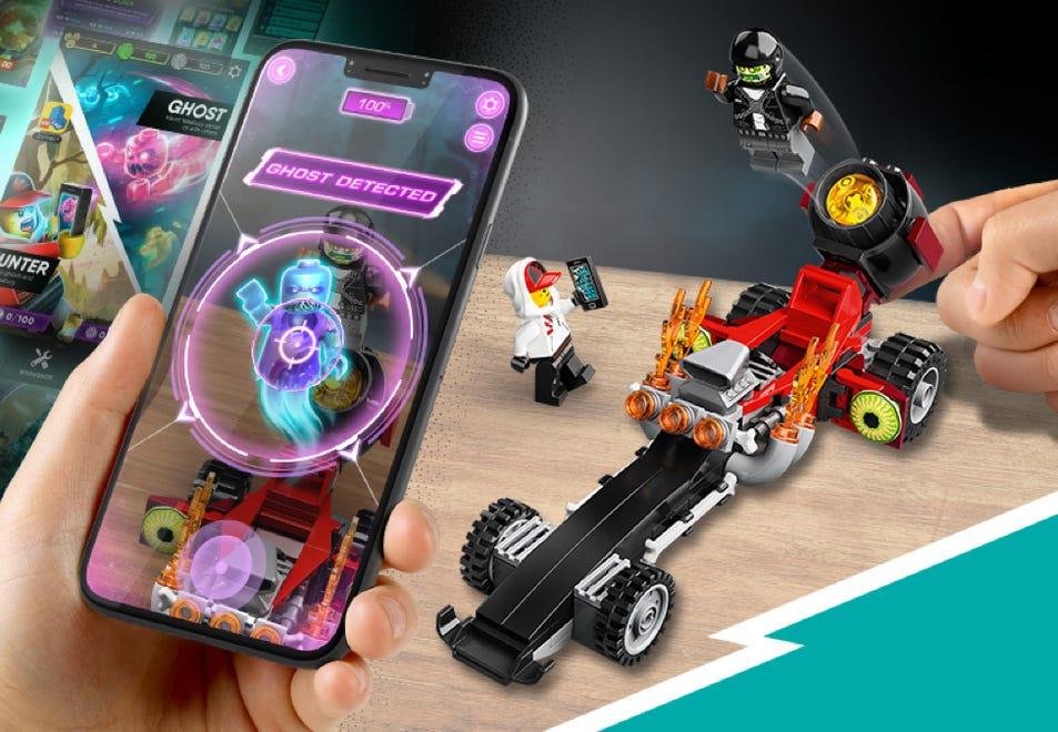 Gratis LEGO Hidden Side Dragracer bij besteding vanaf €45,-