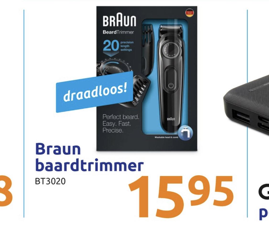 Braun BT3020 - Trimmer bij de action