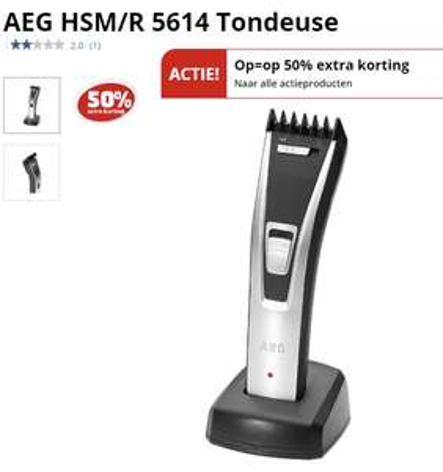 AEG HSM/R 5614 Tondeuse