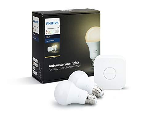 Warehouse deal Philips hue 2x E27 white en bridge