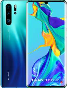 Huawei P30 Pro 128GB Blauw @ Coolblue