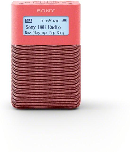 Sony XDR-V20DP - DAB+ radio - Roze @ Bol.com
