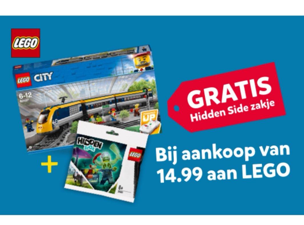 Gratis Lego Hidden Side polybag bij besteding van 15euro of meer aan Lego producten