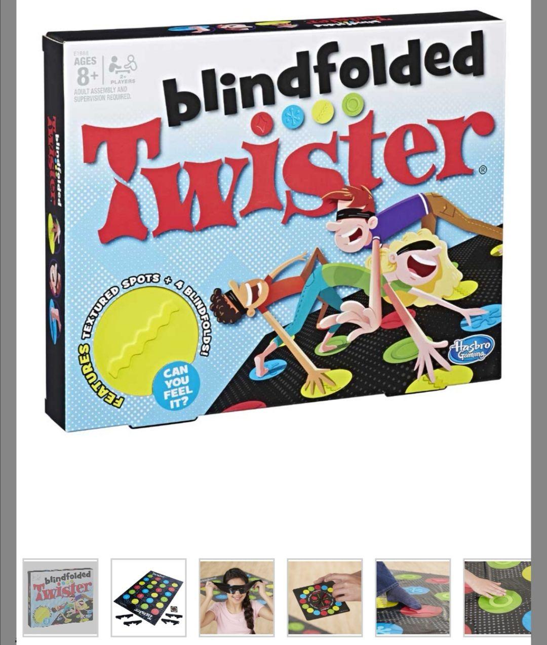 Twister Blindfolded voor maar €4,98. Online + in de winkels.