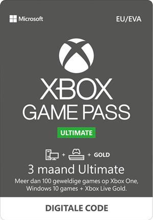 Xbox Game Pass Ultimate 3 + 3 maanden gratis @ Game Mania