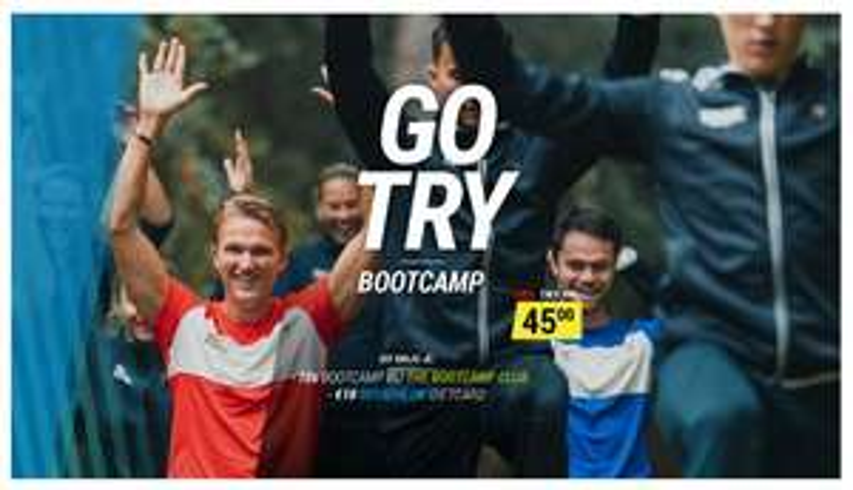 10x sporten bij The Bootcamp Club + €10 tegoed @ Decathlon