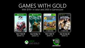 Games with Gold Februari 2020