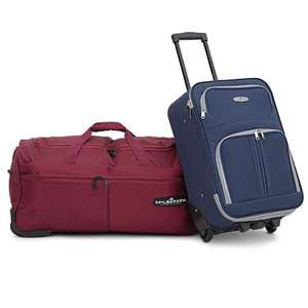 Spilbergen softcase koffer of reistas