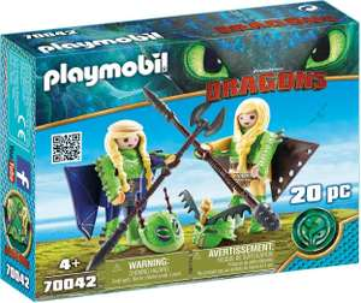 Playmobil 70042 - Dragons Schorrie & Morrie